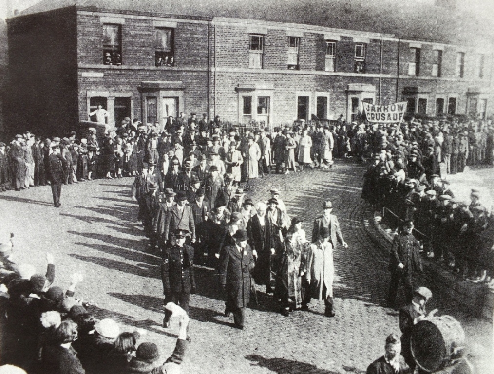 Start of Jarrow crusade 1936